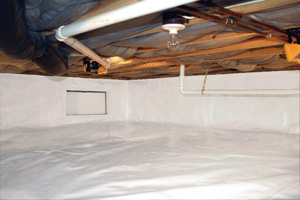 Crawl Space Repair After in Nepean