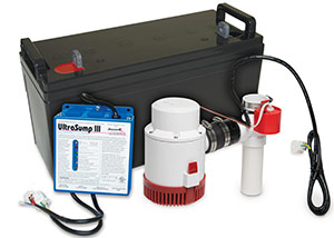 a battery backup sump pump system in Perth