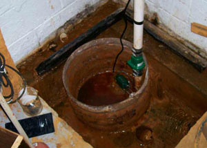 Extreme clogging and rust in a Perth sump pump system