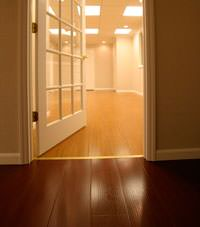 Basement Wood Flooring installed in Carleton Place, Ontario